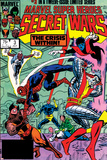 Secret Wars No3 Cover: Colossus  Nightcrawler  Spider-Man  Wolverine  Storm  Cyclops and X-Men