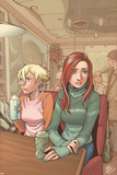 Mary Jane: Homecoming No2 Cover: Watson  Mary Jane  Allen and Liz