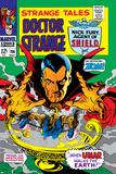Strange Tales No156 Cover: Dr Strange