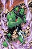 Incredible Hulks No628: Hulk and Red She-Hulk Hugging and Kissing