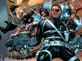 Secret Warriors No5 Cover: Nick Fury
