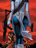 Wolverine No64 Cover: Wolverine and Mystique