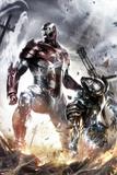 War Machine No10 Cover: Iron Patriot and War Machine