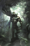 Black Panther No35 Cover: Black Panther