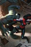 Incredible Hulks No628 Cover: Hulk and Red She-Hulk