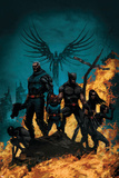 X-Force/Cable: Messiah War No1 Cover: Wolverine  Cable  Archangel  X-23  Domino and Hope
