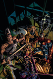 Dark Avengers No10 Cover: Hawkeye