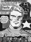 Captain America Bicentennial Battles Headshot: Captain America  Marvel Comics and X-Men