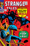 Strange Tales No146 Cover: Dr Strange and Eternity