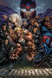 Ultimatum No3 Cover: Magneto  Sabretooth  Madrox  Mystique  Blob  Quicksilver and Lorelei