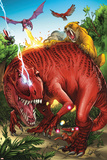 Lockjaw and the Pet Avengers No2 Group: Devil Dinosaur  Zabu  Red Wing and Lockheed