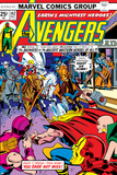 Avengers No142 Cover: Thor  Hawkeye  Iron Man  Rawhide Kid  Kid Colt and Avengers