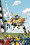 The Age Of The Sentry No4 Cover: Sentry
