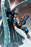 Spectacular Spider-Man No10 Cover: Spider-Man and Doctor Octopus