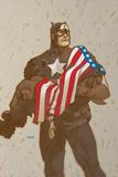 Captain America V4  No23 Cover: Captain America