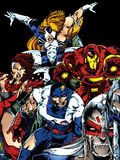 The Official Handbook Of The Marvel Universe Teams 2005 Group: Iron Man