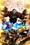 Guardians Of The Galaxy No1 Cover: Star-Lord  Drax The Destroyer and Rocket Raccoon