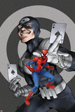 Marvel Adventures Spider-Man No60 Cover: Spider-Man and Bullseye