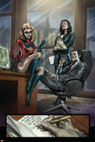 Dark Reign: The List - Hulk No1 Group: Ms Marvel  Osborn  Norman  Hand and Victoria