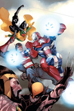 The Mighty Avengers No32 Cover: Iron Patriot