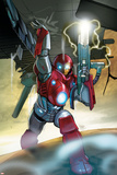 Ultimate Iron Man II No5 Cover: Iron Man