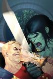 Incredible Hulk No605 Cover: Skaar and Tyrannus
