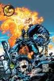 Ghost Rider V3 No6 Cover: Ghost Rider and Gunmetal Gray