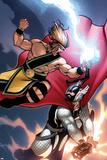 Incredible Hercules No136 Cover: Hercules and Thor
