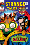 Strange Tales No148 Cover: Dr Strange  Ancient One and Kaluu