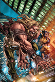 Weapon X: First Class No1 Cover: Sabretooth and Wolverine