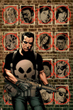 House Of M: Avengers 3 Cover: Punisher