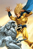 Vengeance of the Moon Knight No2 Cover: Moon Knight and Sentry