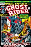 Marvel Spotlight No5 Cover: Ghost Rider