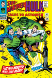 Tales to Astonish No83 Cover: Hulk and Thunderbolt Ross