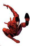 The Amazing Spider-Man No566 Cover: Daredevil