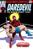 Daredevil No164 Cover: Daredevil