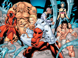 Alpha Flight 1 Group: Sasquatch  Nemesis  Major Mapleleaf  Yuko  Alpha Flight and Yukon Jack