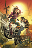 Runaways No10 Cover: Hayes  Molly and Wolverine