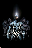 Inhumans 2099 No1 Cover: Black Bolt and Inhumans Flying