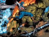 Ultimate Six No6 Group: Captain America  Green Goblin  Wasp  Thor and Electro
