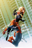 Ms Marvel No47 Cover: Ms Marvel and Spider-Man