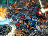 Guardians Of The Galaxy No7 Group: Major Victory  Groot  Bug and Rocket Raccoon