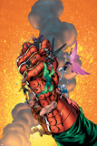 New Thunderbolts No6 Cover: Baron Strucker  Radioactive Man  Songbird and New Thunderbolts