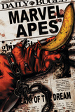 Marvel Apes 4 Cover: Marvel Universe