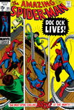 Amazing Spider-Man No89 Cover: Spider-Man and Doctor Octopus