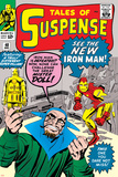 Tales of Suspense No48 Cover: Iron Man and Mister Doll
