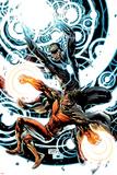 X-Men: Emperor Vulcan No5 Cover: Vulcan and Havok