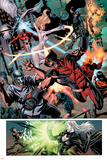 Dark Avengers No7 Group: Wolverine  Dagger  Avalanche and Weapon Omega