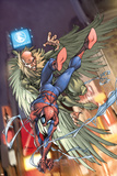 Marvel Age Spider-Man No1 Cover: Spider-Man and Vulture
