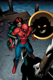 The Amazing Spider-Man No550 Cover: Spider-Man and Jackpot